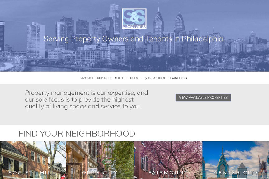 realtor website designer philadelphia